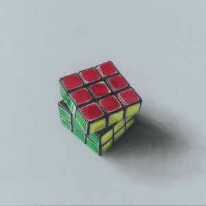 realistic-3d-3x3-rubiks-cube-painting