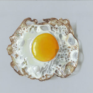 realistic-3d-halffried-egg-painting